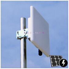 Pluto_R2418M 300M WiFi Wlan 2.4G Outdoor AP Bridge Client PoE 18dBi MiMO Antenna