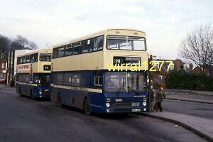 6x4 Bus colour photograph West Midlands PTE Metrobus B805AOP