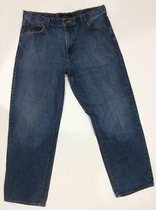 Calvin Klein Men's Straight Leg Blue Jeans Size 36x31