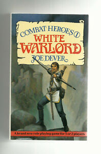 BEAVER BOOKS - COMBAT HEROES #1, THE WHITE WARLORD (JOE DEVER, 1st edition 1986)