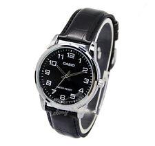 -Casio MTPV001L-1B Men's Strap Fashion Watch New & 100% Authentic