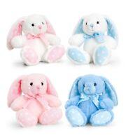 Keel Toys soft plush Easter Rabbit 15 & 25cm Rabbit-nursery gift Pink/Blue