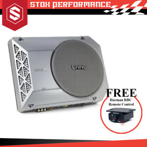 """Infinity Basslink SM 8"""" (200mm) 125W RMS Compact Powered Car Underseat Subwoofer"""