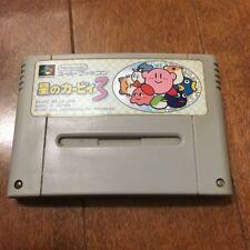 Kirby 3 Kirby's Dream Land 3 SNES Super Famicom Japan
