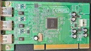 Stratitec IEEE-1394 Firewire i.Link 3 Port PCI Card