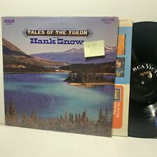 Tales Of The Yukon Hank Snow- RCA 4032 Country LP- VG++/VG++