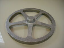 Cast Aluminum Steampunk Machine Age Grate 5 Spoke Wheel