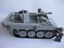 RSO mit Pak Kanone Panzer Militär  WW2 Bausteine w Cobi, Lego  nur Bauanleitung