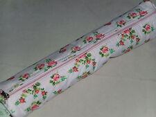 BNWT almacenamiento con estilo-Polka Dot/Diseño Floral Tela Estuche de aguja de tejer