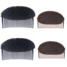 4 Pcs Puffy Ponytail Insert Hair Combs Magic Hair Volume Insert Tool Bump It Up
