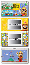 Super Mario Maker Vinyl Skin Sticker for Nintendo DS Lite