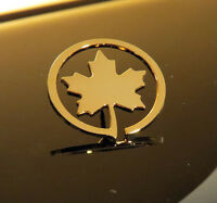 Pin AIR CANADA Maple Leaf 1.25 inch Pin Gold for Pilots Crew
