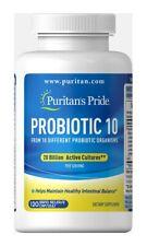 Puritan's Pride Rapid Release Probiotic 10 120 Capsules Digestive Health NEW