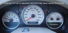 07-08 Ford F150 LARIAT KING RANCH Instrument Cluster Speedometer Tach Speedo MPH