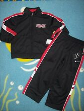 Nike Track Outfit Jogger 2pc Running Set Toddler Boys 3Toddler Black NWT