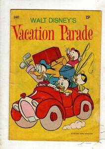 WALT DISNEY COMICS 'VERY RARE' G 482  1970  FINE COND. BY W.G PUBLICATIONS