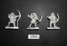 Warhammer Lord of The Rings LOTR Metal MORIA DWARF BOWMEN X3 C 932