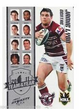 Single - Insert Manly Sea Eagles Original NRL & Rugby League Trading Cards