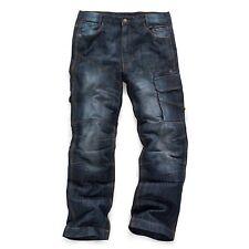 Scruffs 3d Vintage Plus Trade Denim Work Jeans Trousers Knee Pad Pockets Worker 30 Regular