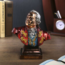 Mikhail Lomonosov Bust Sculpture Statue Collectible Art Figurine Figure