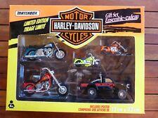 Motos miniatures Harley Davidson - Coffret Matchbox édition limitée.