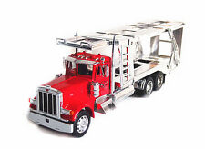 Welly 1:32 Kenworth W900 Semi Tractor Trailer Car Carrier Diecast Metal Model