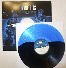 Divine Fits - Rare Black & Blue Colored LP Live at Third Man Records TMR