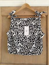 Geometric Party Scoop Neck Other Women's Tops