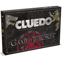 OFFICIAL GAME OF THRONES GOT CLUEDO MYSTERY FAMILY BOARD GAME NEW AND BOXED