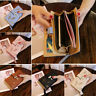 Clutch Leather Wallet Long Card Holder Phone Bag Case Purse Women's lady Handbag
