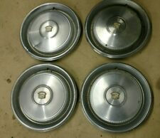 CADILLAC DEVILLE CONVERTIBLE HUBCAPS ALL 4 OEM 1970