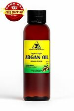 ARGAN OIL UNREFINED ORGANIC EXTRA VIRGIN MOROCCAN by H&B Oils Center PURE 2 OZ