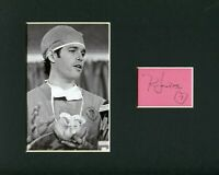 Robert Jarvik Artificial Heart Doctor Jarvik-7 Signed Autograph Photo Display