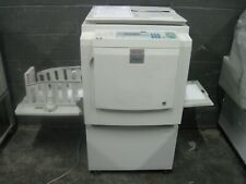 New listing Ricoh Dx3343 High Speed Digital Duplicator Low Meter Stand Networked Nice Print