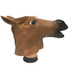 Novelty Horse Animal's Head PVC Mask Halloween Party Cosplay Costume Props