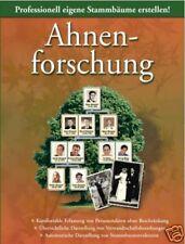 AHNENFORSCHUNG-Stammbäume erstellen am PC-NEU