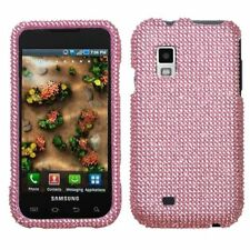 Pink Crystal Bling Case Cover Samsung Fascinate i500