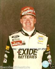 JEFF BURTON EXIDE BATTERIES NAPA NASCAR 8 X 10 PHOTO