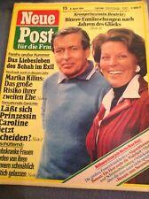 Neue Post.  Nr. 15.  vom. 9. April. 1979