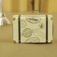 3PCS Rustic Candy Box Craft Shabby Wedding Baby Shower trunk shape gift box