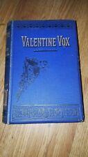 1886 Antique/Vintage Valentine Vox - The Ventriloquist by Henry Cockton Hardback