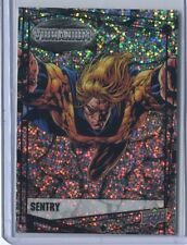 2015 Upper Deck Marvel Vibranium - Sentry Raw Parallel #81 Comic Book Card