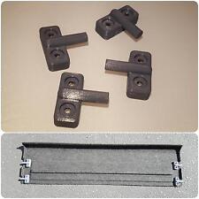 88-91 Honda CRX Cargo Lid Brackets Replicas 3D Printed trunk shelf cover bracket