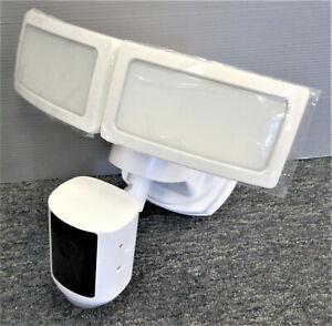 Feit Electric LED Dual Head Motion Sensor Smart Floodlight Sec Camera #1355300