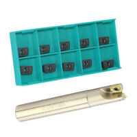 1pcs Indexable End Mill Set with 10pcs APMT1135PDER VP5525 Carbide Inserts