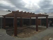 Hardwood Rails 150/38 horse fences, yards feature walls