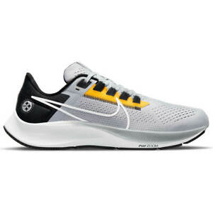 New in 2021! NFL Pittsburgh Steelers Nike Zoom Air Pegasus 38 Shoes M and W Size