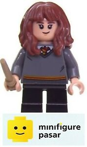hp139 Lego Harry Potter 75956 75953 75954 - Hermione Granger Minifigure w Wand