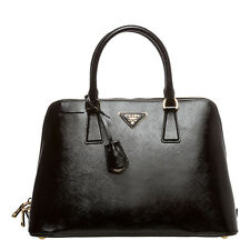 Auth Prada Saffiano Lux Vernice Top Handle Bag Black Italy COD PAYPAL