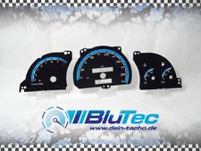 Tachoscheiben für Tacho OPEL Astra F, Calibra, Vectra A - COLOR LINE BLUE -